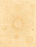 Fundo de Grunge do estouro do círculo ilustração royalty free