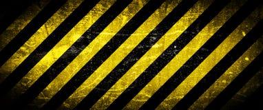 Fundo de Grunge, listras amarelas ilustração do vetor