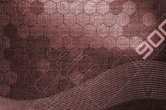 Fundo de Grunge na tecnologia da textura Imagem de Stock