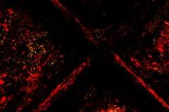Fundo de Grunge: O vermelho e o preto Foto de Stock