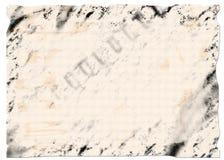 Fundo de Grunge - papel Foto de Stock