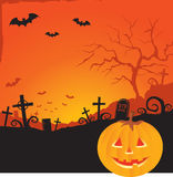 Fundo de Halloween Foto de Stock