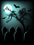 Fundo de Halloween Foto de Stock Royalty Free