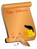 Fundo de Halloween Fotos de Stock