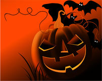 Fundo de Halloween ilustração do vetor