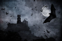 Fundo de Halloween Fotos de Stock Royalty Free