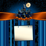 Fundo de Halloween Fotografia de Stock Royalty Free