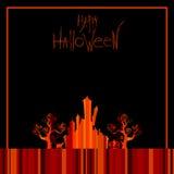 Fundo de Halloween Imagem de Stock Royalty Free