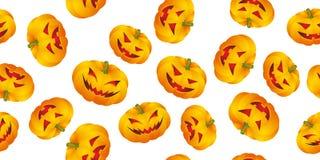 Fundo de Halloween com abóboras Foto de Stock Royalty Free