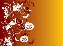 Fundo de Halloween, vetor ilustração stock
