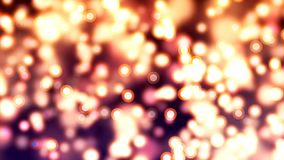 Fundo de HD Loopable com os vaga-lume abstratos agradáveis vídeos de arquivo