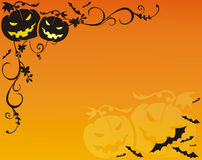 Fundo de Helloween Fotografia de Stock Royalty Free