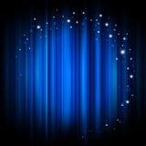 Fundo de incandescência abstrato com luzes mágicas Fotos de Stock Royalty Free