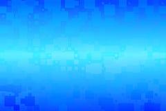 Fundo de incandescência das telhas do inclinação do azul de turquesa vário ilustração do vetor
