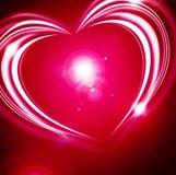 Fundo de incandescência do Valentim ilustração royalty free