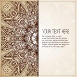 Fundo de Intage Cartão retro, convite Fotos de Stock Royalty Free