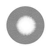 Fundo de intervalo mínimo abstrato do círculo Imagens de Stock Royalty Free