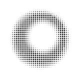 Fundo de intervalo mínimo abstrato do círculo Imagem de Stock Royalty Free