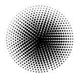 Fundo de intervalo mínimo abstrato do círculo Fotos de Stock