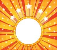 Fundo de intervalo mínimo com estrelas ilustração royalty free