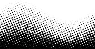 Fundo de intervalo mínimo pontilhado preto e branco Fotografia de Stock