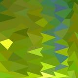 Fundo de junho Bud Green Abstract Low Polygon ilustração stock