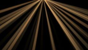 fundo de 4k Ray Stage Lighting, energia de laser da radiação, linha da passagem do túnel ilustração royalty free
