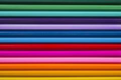 Fundo de lápis coloridos Fotografia de Stock Royalty Free
