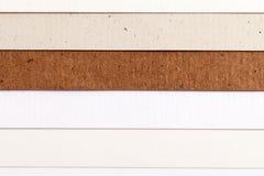 Fundo de listras horizontais da paralela colorida do papel Imagem de Stock