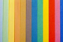 Fundo de listras verticais da paralela colorida do papel Imagens de Stock