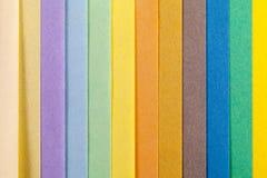 Fundo de listras verticais da paralela colorida do papel Fotos de Stock Royalty Free