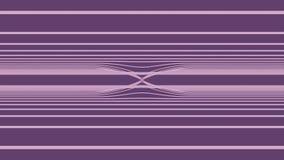 Fundo de Loopable com sumário agradável, linhas coloridas futuristas Laço ondulado abstrato colorido das listras VJ das raias ilustração do vetor