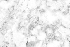 Fundo de mármore branco da textura, mármore genuíno detalhado da natureza imagens de stock royalty free