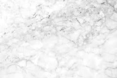Fundo de mármore branco da textura Projeto de mármore do teste padrão dos interiores Fotografia de Stock