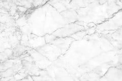 Fundo de mármore branco da textura Projeto de mármore do teste padrão dos interiores Fotos de Stock Royalty Free