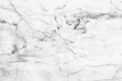Fundo de mármore branco da textura Projeto de mármore do teste padrão dos interiores Imagem de Stock Royalty Free