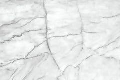 Fundo de mármore branco da textura Projeto de mármore do teste padrão dos interiores Fotografia de Stock Royalty Free