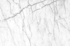 Fundo de mármore branco da textura Projeto de mármore do teste padrão dos interiores Foto de Stock