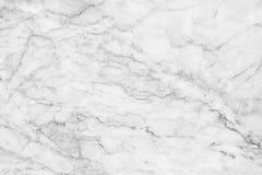 Fundo de mármore branco da textura Projeto de mármore do teste padrão dos interiores Imagens de Stock Royalty Free