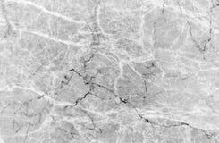Fundo de mármore cinzento da textura Fotos de Stock Royalty Free