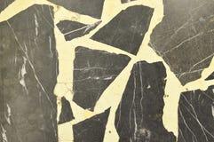 Fundo de mármore cinzento velho da textura foto de stock