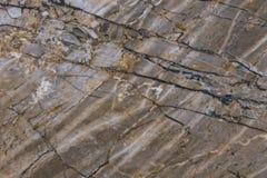 Fundo de mármore escuro preto da textura de Brown foto de stock royalty free