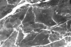 Fundo de mármore natural cinzento e branco da textura do teste padrão Fotografia de Stock Royalty Free