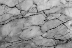 Fundo de mármore natural cinzento e branco da textura do teste padrão Imagem de Stock
