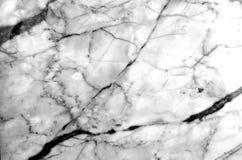 Fundo de mármore natural cinzento e branco da textura do teste padrão Imagens de Stock