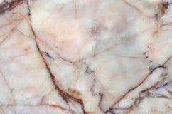 Fundo de mármore natural cor-de-rosa da textura do teste padrão Imagens de Stock