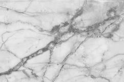 fundo de mármore natural preto e branco e cinzento da textura do teste padrão Fotos de Stock