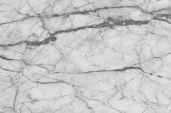 fundo de mármore natural preto e branco da textura do teste padrão Fotografia de Stock Royalty Free