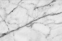 fundo de mármore natural preto e branco da textura do teste padrão Fotos de Stock