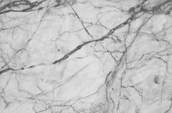 fundo de mármore natural preto e branco da textura do teste padrão Fotografia de Stock